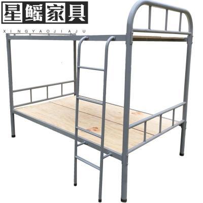 双层铁床学生宿舍铁架床员工铁艺上下高低铺铁床成人单层铁床