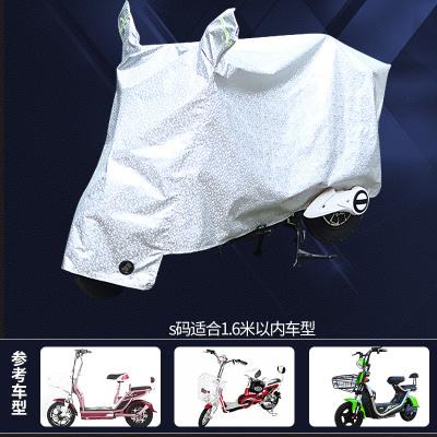 電動車防霜雪車套電瓶車防曬防雨罩摩托車車衣遮陽蓋布加厚防塵罩