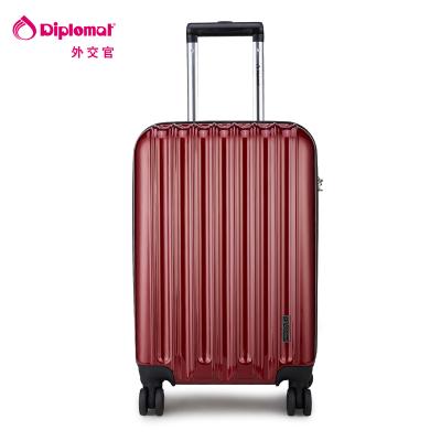 Diplomat брэндийн аялалын чемодан TC-618 24 инч хүрэн улаан