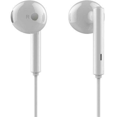 华为荣耀(honor) 荣耀AM115半入耳式耳机(白色)原装三键线控带麦半入耳式有线耳机 适用于华为、荣耀、苹果手机等