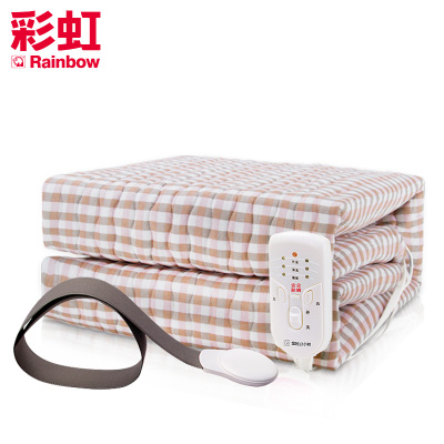 彩虹(RAINBOW)睡眠監測智能電熱毯 雙人雙控電褥子 排潮除濕加厚安全 1980