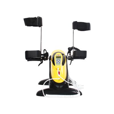 康伊家 電動康復機腳踏車腿部活動障礙訓練器主被動上下肢中風偏癱康復器材 HM-005A主被動帶阻力帶腿部支架康復機