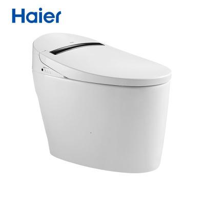 海尔(Haier)卫玺H1-3013智能马桶一体机节水虹吸坐便器全自动马桶即热式无水箱烘干马桶???防电墙(305坑距)