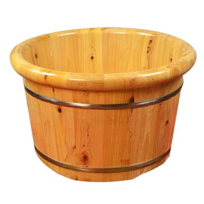 腳桶木質足浴盆香柏木泡腳木桶足浴木桶洗腳桶黎衛士木桶