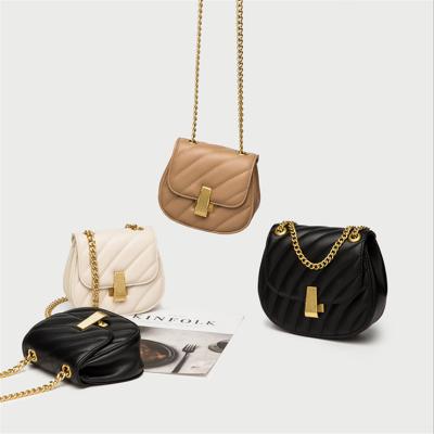 阿斯皮納爾女包2020新款包包女ZS-1064小豬包歐美時尚ins迷你小包馬鞍鏈條包女士單肩包女斜挎包女手提包包女包