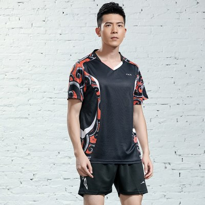 乒乓球服世乒賽速干乒乓球衣男女短袖比賽服國家隊乒乓球套服*.*
