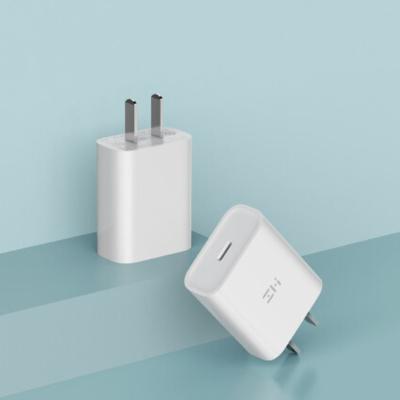 ZMI紫米蘋果PD快速單C口充電器Type-C18W快充頭支持iphoneXsMax/8/iPad Pro/MacBoo