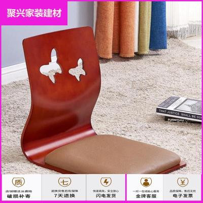 蘇寧放心購榻榻米地毯靠背椅無腿飄窗椅和室曲木椅懶人椅子飄窗座簡約新款