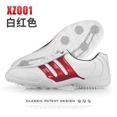 高尔夫球鞋 男款防水鞋子 经典款阿迪风运动鞋