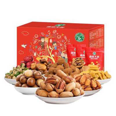 森林大叔欢聚礼盒2020g 零食大礼包 10袋装 森林大叔出品