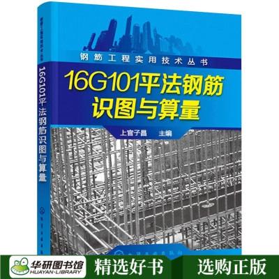 正版 16G101平法鋼筋識圖與算量 鋼筋翻樣工程技術圖集 平法鋼筋識圖與計算實例教程 平法基礎知識 16g101-1-