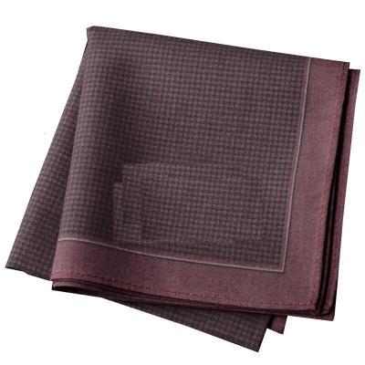 棉男士圖案拼色手帕口袋巾棉印花吸汗大尺寸設計