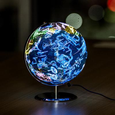 得力(deli)2187 φ23cm 星座LED带灯地球仪 中英文教学演示