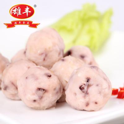 雄豐章魚丸500g速凍肉丸小丸子豆撈火鍋食材冷凍食品