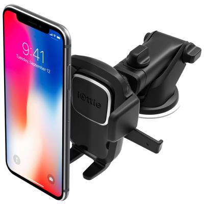 艾欧提(iOttie)车载手机支架手机座 伸缩型吸盘式 黑色 适用三星/华为/小米/苹果等手机宽度5.8-8.9cm