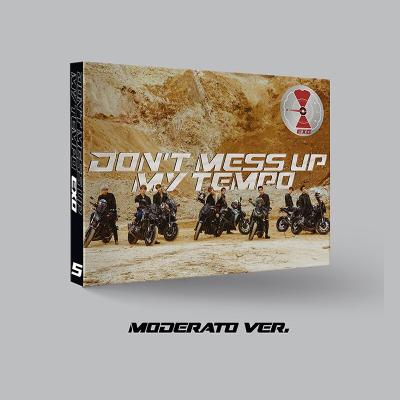 {现货}EXO专辑 正规5辑 DON'T MESS UP MY TEMPO CD+海报+小票+礼物 Moderato