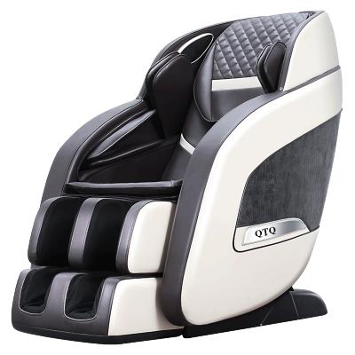 英國QTQ按摩椅家用太空艙智能電動按摩沙發多功能3D零重力揉捏錘拍全身按摩全自動R8