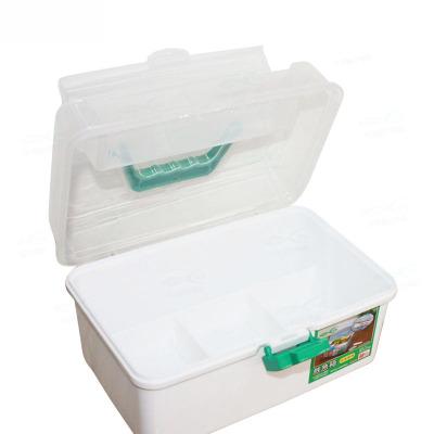 可孚家用大号药箱/药包家用多隔层旅行便携儿童药箱手提箱收纳箱旅行药箱收纳盒成人医药整理箱子Cofoe