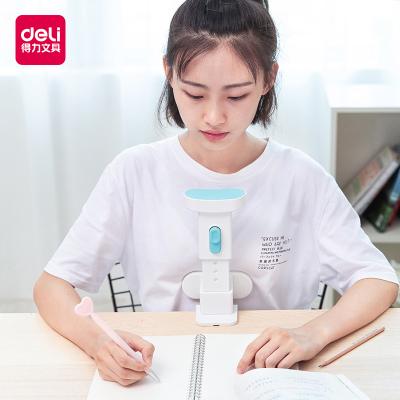 得力坐姿矯正器兒童寫字小學生用視力保護器寫字架糾正姿勢防駝背提醒器低頭調整近視護眼支架寫作業書寫架套裝禮盒