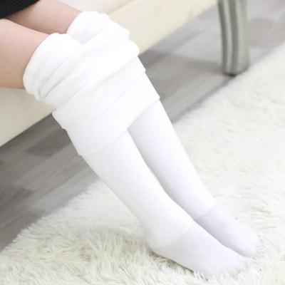 抹炫(MOXUAN)女童加绒加厚连裤袜春秋冬季儿童保暖打底裤子肉色外穿练功舞蹈袜
