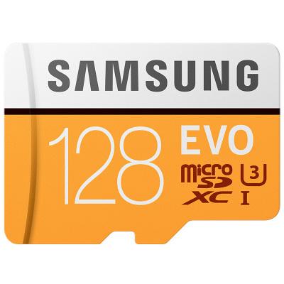 三星(SAMSUNG) microSD存储卡 128G Class10 UHS-3 传输100MB/s 车载 行车记录仪