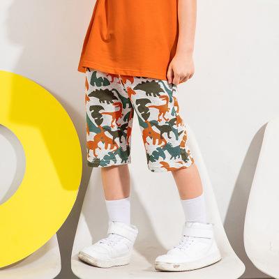 青蛙王子男童短褲寶寶褲子百搭時尚氣兒童夏裝寬松洋氣休閑五分褲