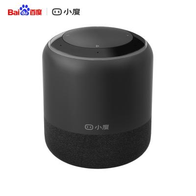 【向往的生活官方合作伙伴】小度人工智能音箱1S WiFi/藍牙音箱萬能紅外遙控器 百度海量內容 貼心兒童模式語音操控音響