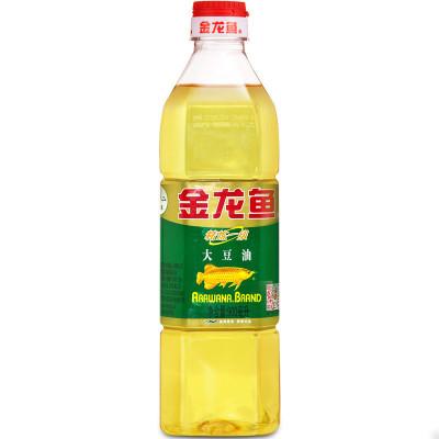 金龙鱼大豆油900ml/瓶 食用油色拉油精炼一级烧烤烘焙蛋糕炒菜