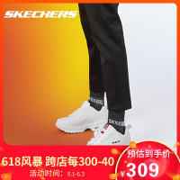 Skechers斯凯奇2020新款Energy厚底老爹鞋熊猫鞋运动鞋男女13423
