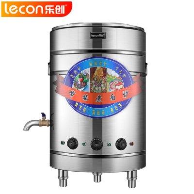 樂創電器旗艦店(lecon) 60型170L電熱煮面爐 商用煮面桶雙層保溫爐湯面爐麻辣燙機湯鍋60型