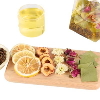 谷益豐檸檬玫瑰菊花荷葉茶20包X10g