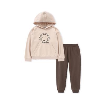 巴拉巴拉男童套裝兒童衣服2020新款春季中大童兩件套文藝長袖長褲