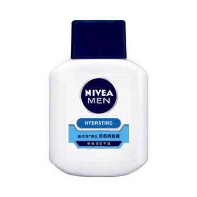 妮維雅(NIVEA)男士須后潤膚露100g 保濕補水 新老包裝隨機發