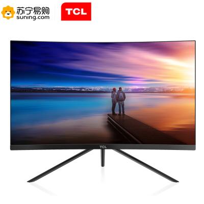 TCL 27英寸1800R曲面 微邊框 廣視角 抗藍光不閃屏 全高清電競顯示器T27M7C