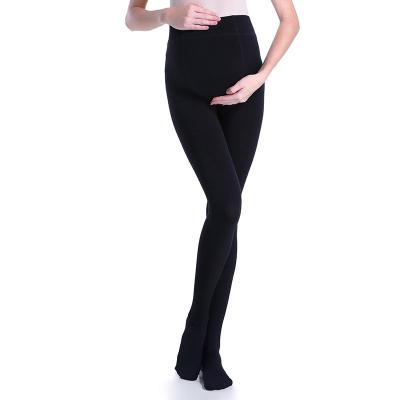 INUJIRUSHI 日本犬印本鋪 孕婦160D加絨分段式加壓高腰托腹連褲襪 PS6520