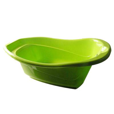 茶花中号浴盆母婴幼儿童宝宝洗澡盆 0409(绿色)
