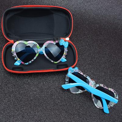 宝宝儿童太阳镜墨镜2-10女童的潮小小童女孩眼镜 臻涩
