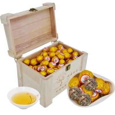 【年货礼盒】民之福 福鼎白茶白牡丹散装茶叶2012茶坨枣香型500克木盒装