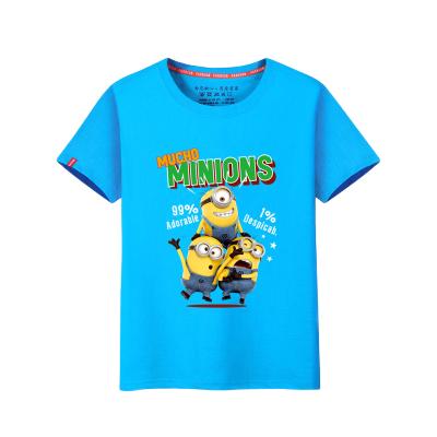 夏季童裝男童短袖t恤2020新款兒童運動上衣小中大童男裝純棉半袖 莎丞