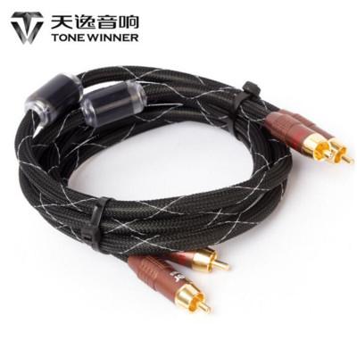 天逸 (winner ) AC-6 金環蛇高檔發燒信號線 家庭及舞臺燈光音響配件(1米)