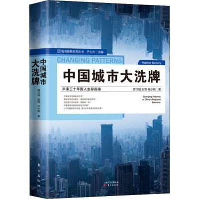 中國城市大洗牌 黃漢城,史哲,林小琬 著 經管、勵志 文軒網