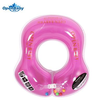 欧培(OPEN BABY)婴儿游泳圈 儿童游泳救生圈 幼儿腋下圈 紫色M码