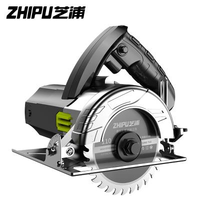 芝浦(ZHIPU)切割機家用小型大功率多功能手提瓷磚石材金屬木材開槽云石機電鋸 加強款3680AW多鋸片