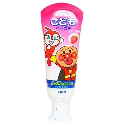 23.4元包邮  狮王 面包超人儿童牙膏草莓味40g*3件
