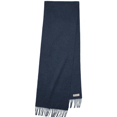 鄂尔多斯ERDOS 100%山羊绒单层水纹女款围巾