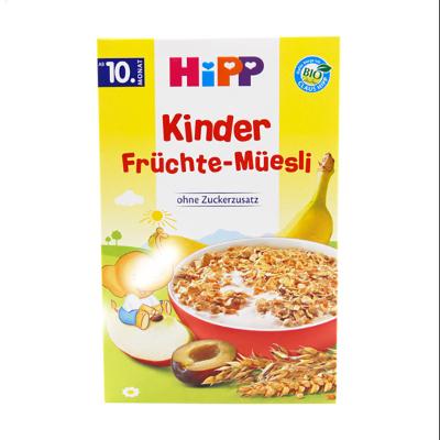 【新效期2022年5月】原装进口德国喜宝Hipp婴幼儿辅食多种水果麦片/米粉200g 苹果多种水果麦片10个月以上