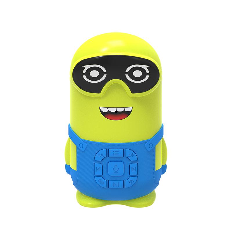 小黄人儿童智能早教机器人ai互动陪伴宝宝玩具语音对话学习故事机