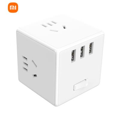 小米 米家魔方转换器/无线版智能USB插座/插线板/插排/排插/拖线板/插板/接线板 3USB接口 新国标 总控