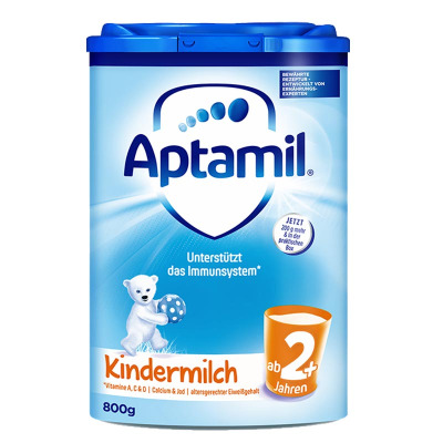aptamil 德国爱他美 原装进口奶粉 爱他美2+段 5段 24-30月5岁 罐装800g 保质期21年11月及以后