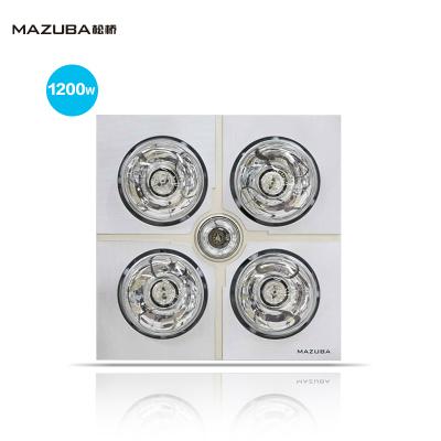 MAZUBA/松桥取暖浴霸CL-12A01 传统吸顶式 灯暖 硬质防爆取暖灯